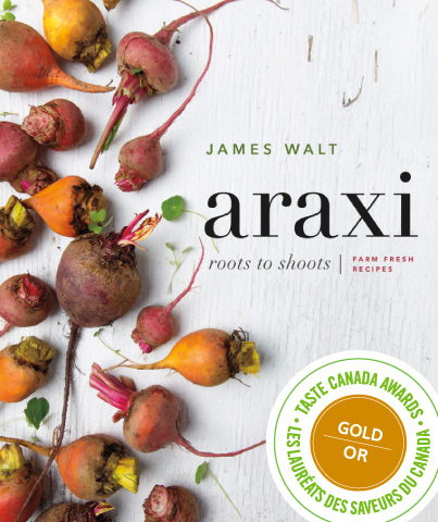 Photo of the New Araxi Cookbook