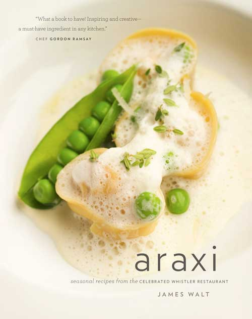 Photo of the Araxi Cookbook