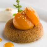 Poached Apricot